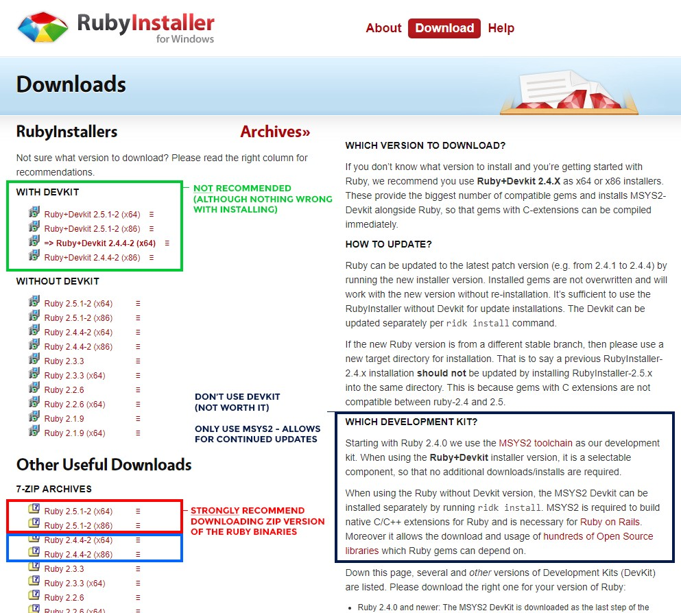 💊 How To Install #RubyonRails 💊 on Windows 7/8/10 → Complete