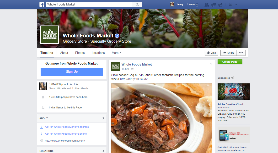 Creating a Lifestyle Brand: Whole Foods Market - Jacey Lucas