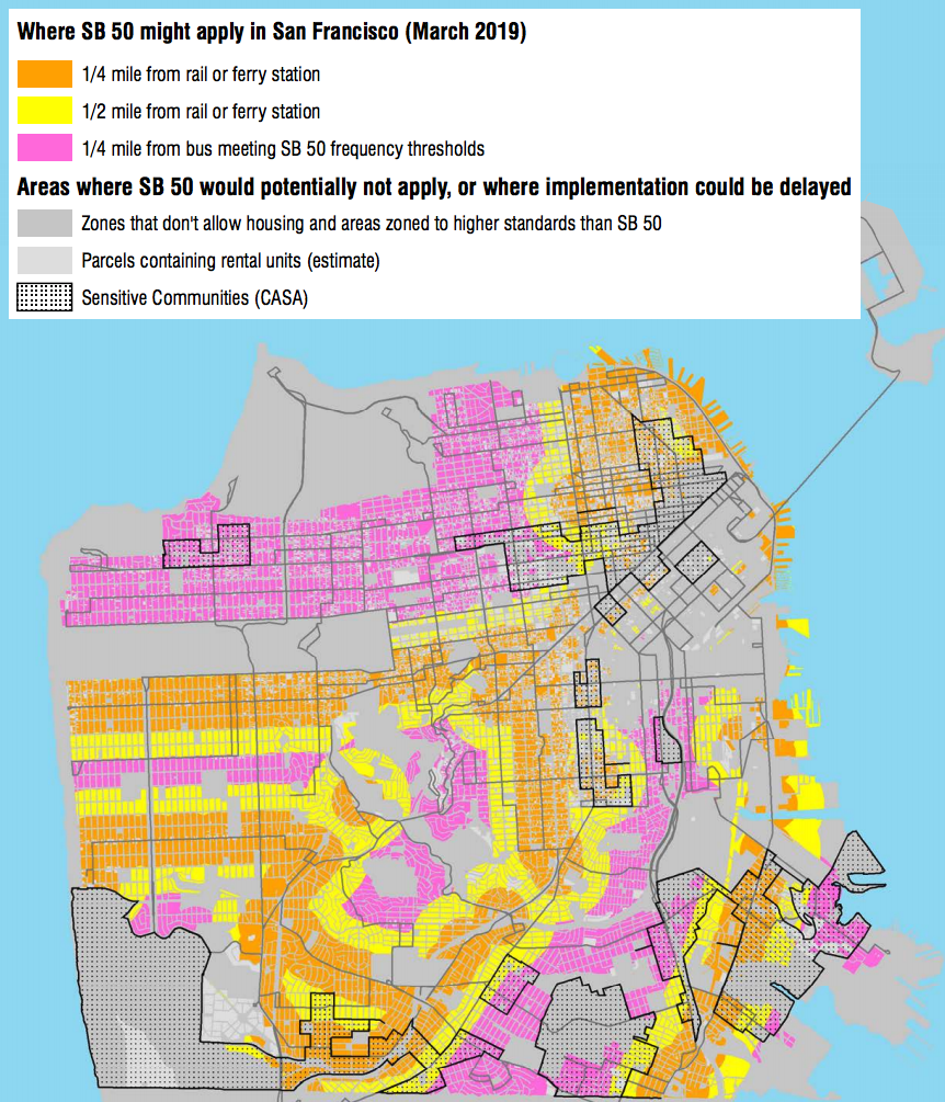 Housing Arguments Over SB 50 Distort My Upzoning Study. Here's How on chicago street index, chicago submarket map, chicago arcology map, chicago cemetery map, chicago temperature map, denver rtd light rail route map, chicago permit parking map, chicago zip code map printable, chicago and surrounding suburbs maps, chicago topography map, chicago residential parking permit, chicago watershed map, chicago construction map, chicago attraction map interactive click, chicago zones, chicago annexation map, chicago budget, a long way from chicago map, chicago metra system map, chicago municipal code,