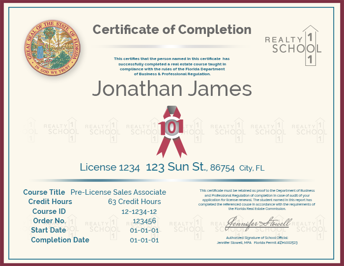 How To Get & Keep A Florida Real Estate License