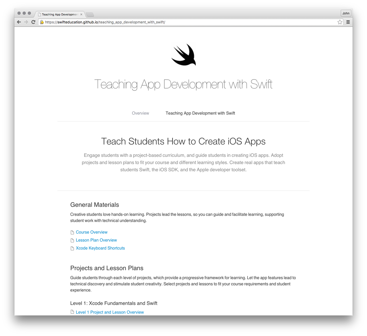 Apple has published a great free learn to code course for Swift — on