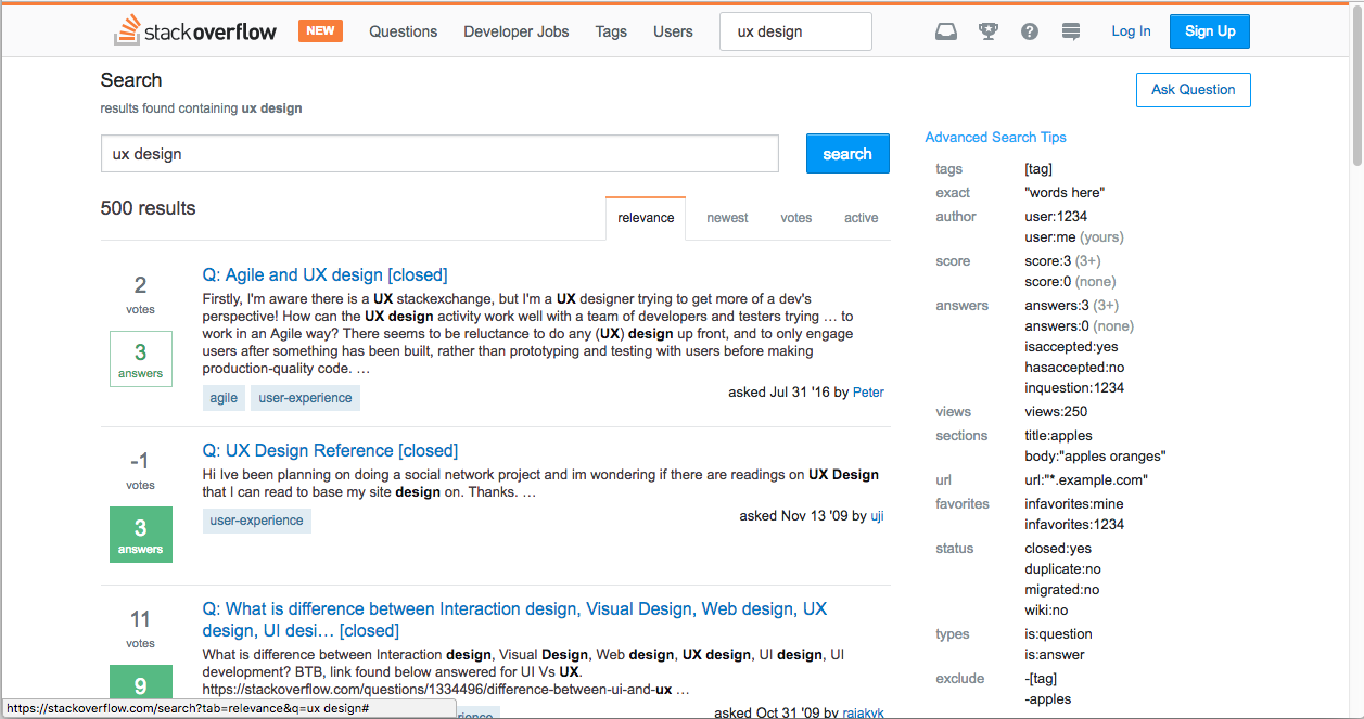 Search interface: 20 things to consider - UX Planet