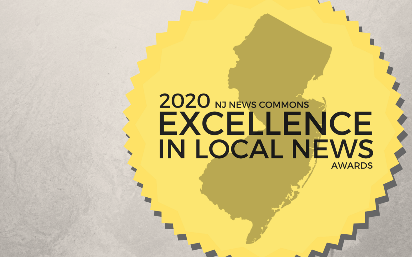 A featured imaged showing the 2020 Excellence in Local News Awards badge and logo.