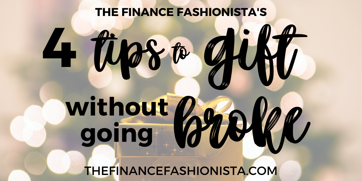 Cover image: 4 Tips to Gift Without Going Broke