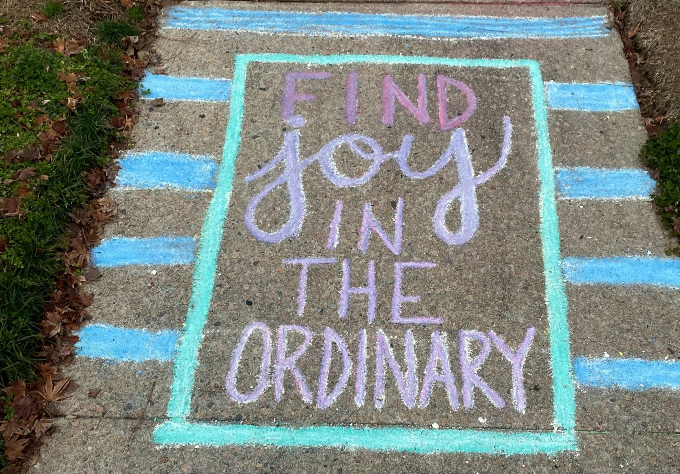 Your life is not like the movies: find joy in the ordinary
