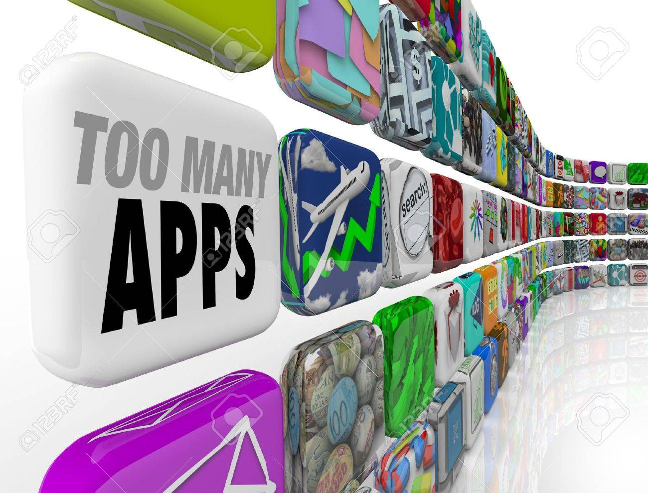 Too many apps in the world