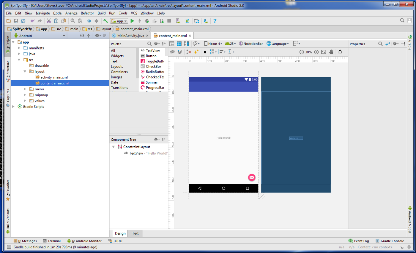 Tutorial for displaying a website in an Andriod app using a Webview
