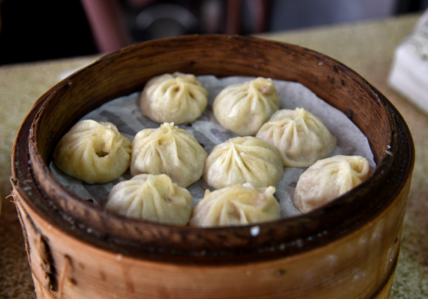 Deliciously thought-provoking soup dumplings.