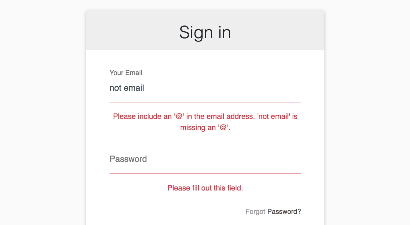 HTML5 form validation in React - Frontend Weekly - Medium