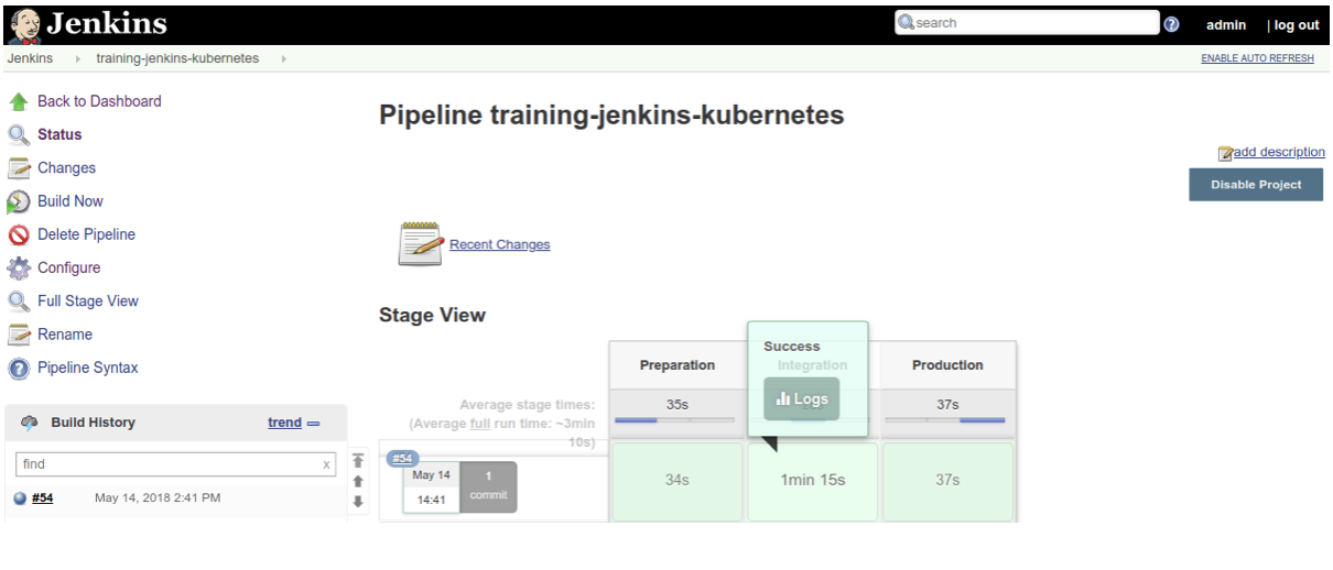 How to setup CI/CD workflow for Node js apps with Jenkins and Kubernetes