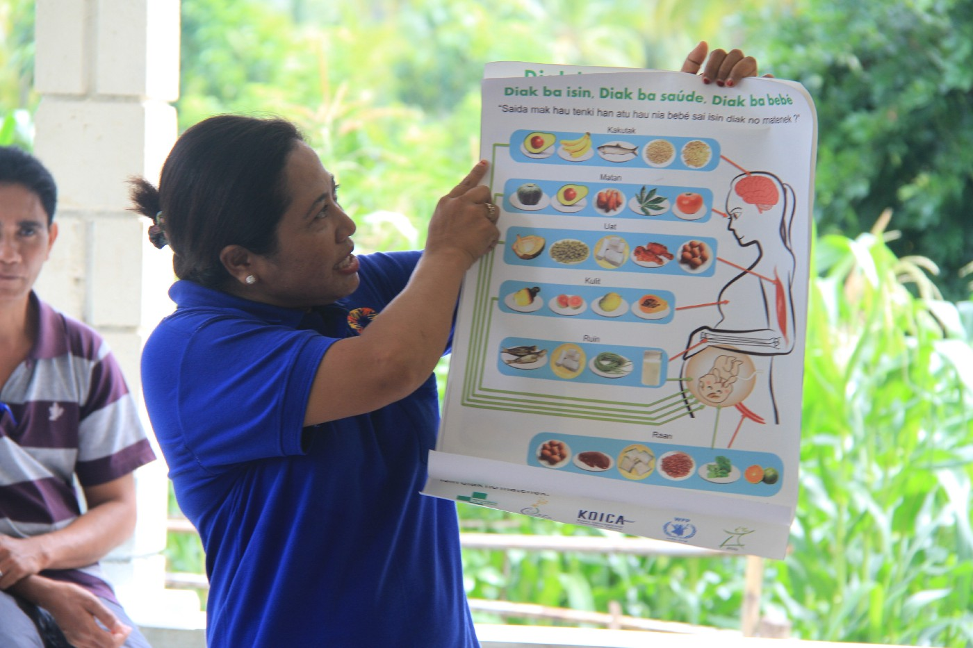 Local food helping to keep mothers and babies healthy in Timor-Leste