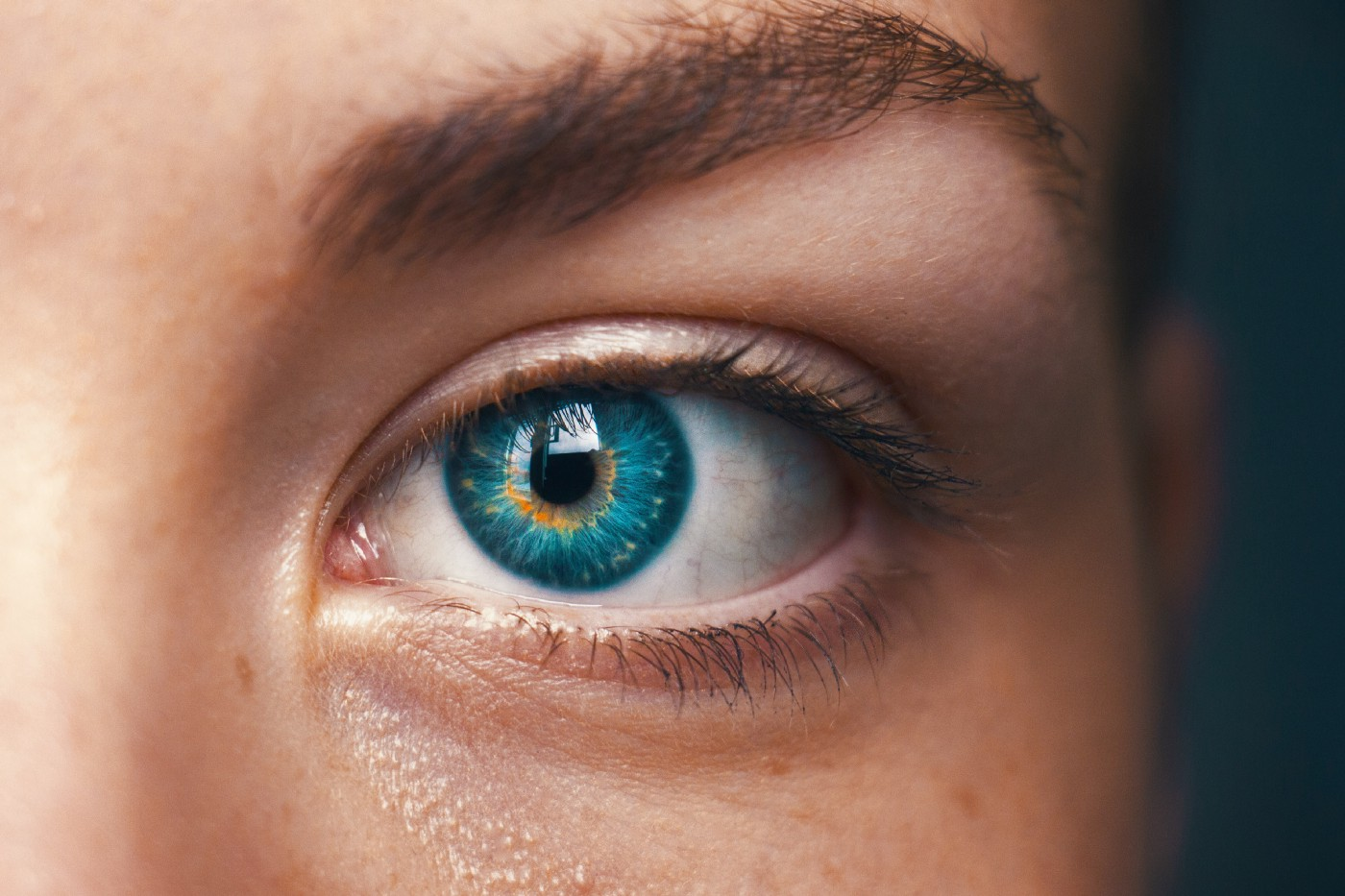 Close-up of a person's eye.