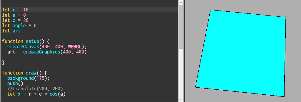 Creating 2D texture on a 3D shape in p5 js  - Nazia Fakhruddin - Medium