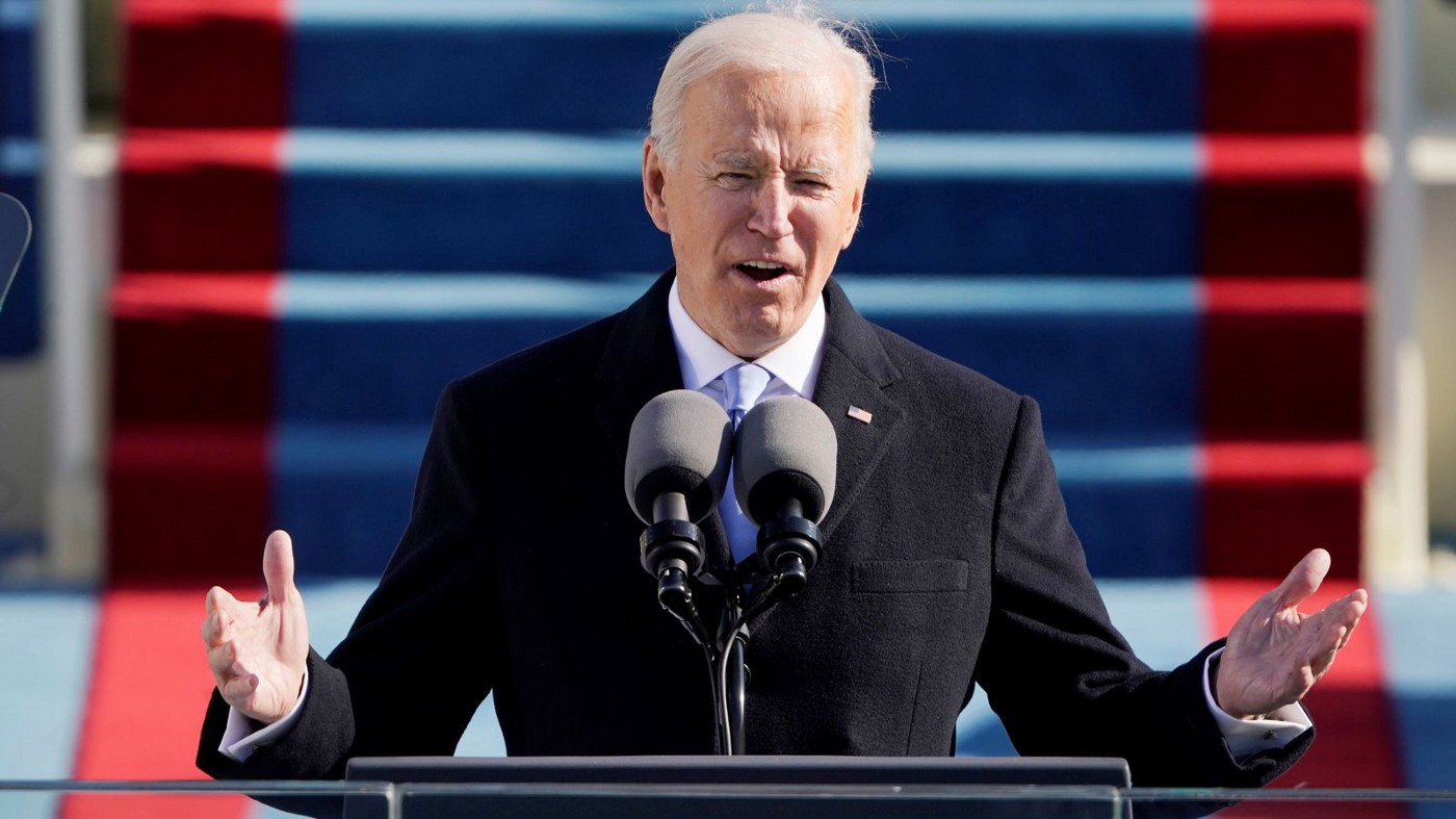 Joe Biden at the 2021 Presidential Inaugruation