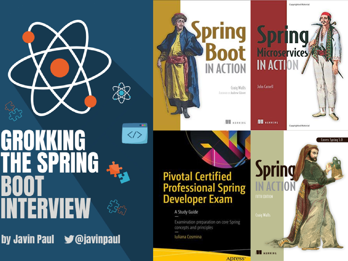 3 Best Books and Courses to Crack Spring Professionals Certification—VMware EDU-1202 Exam for Java Developers