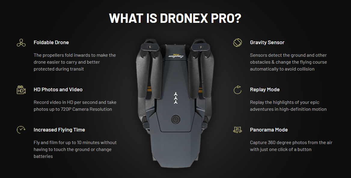 what is drone x pro