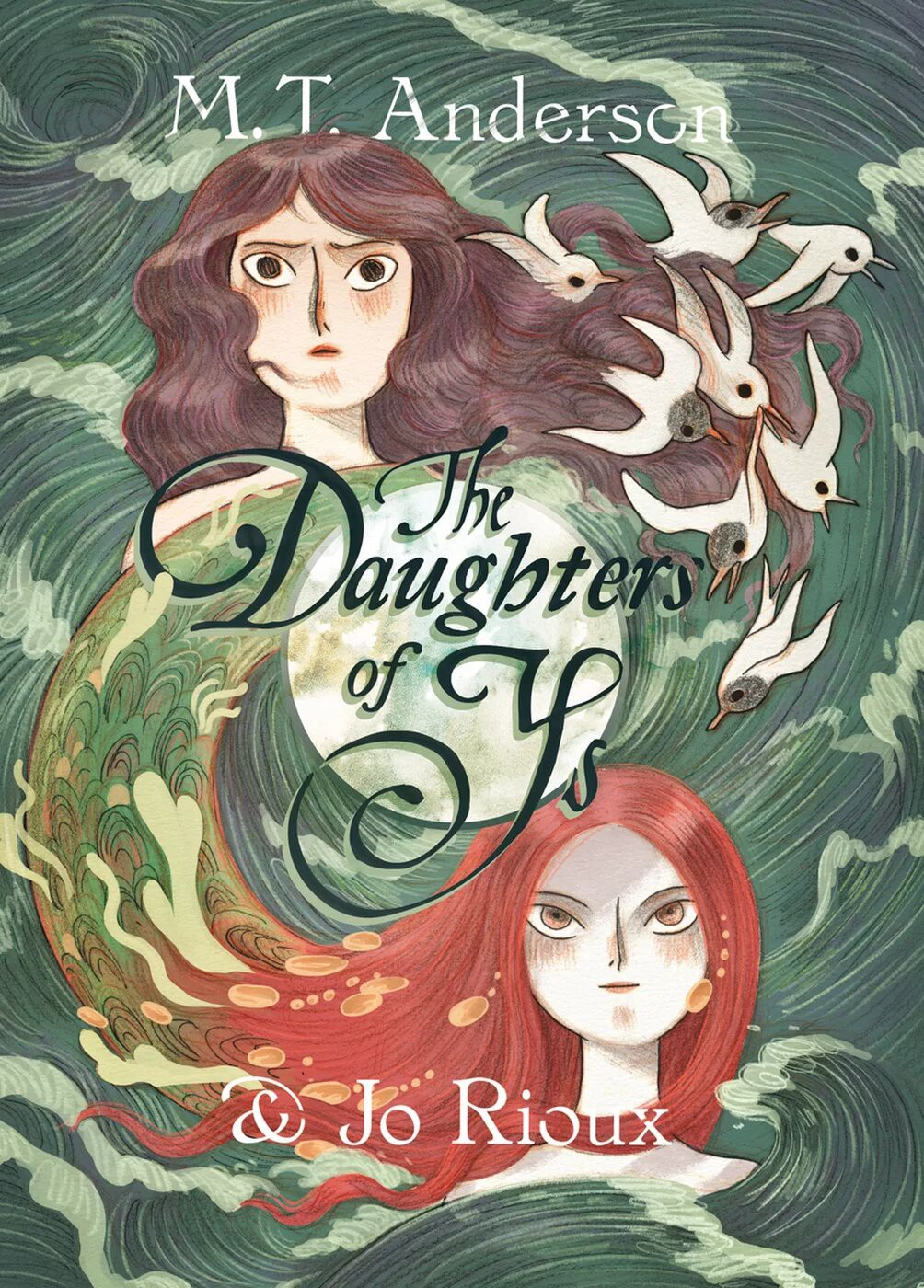 Cover picture for the Daughters of Ys.