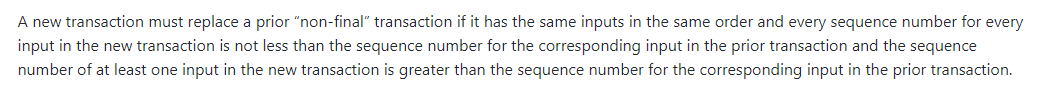 The relevant text from the Genesis upgrade.