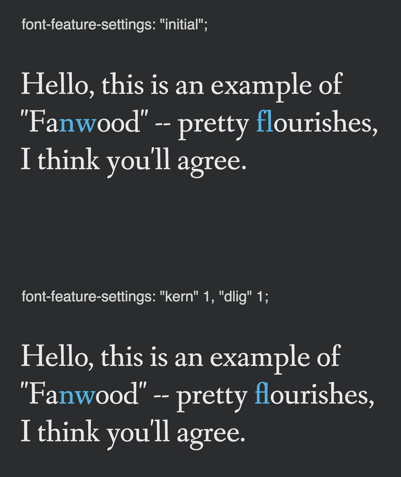 How to hack beautiful flourishes into your font - Superhuman
