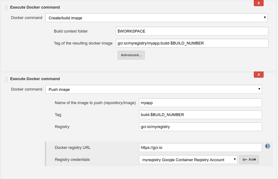 Setup Jenkins with Google Container Registry - ITNEXT