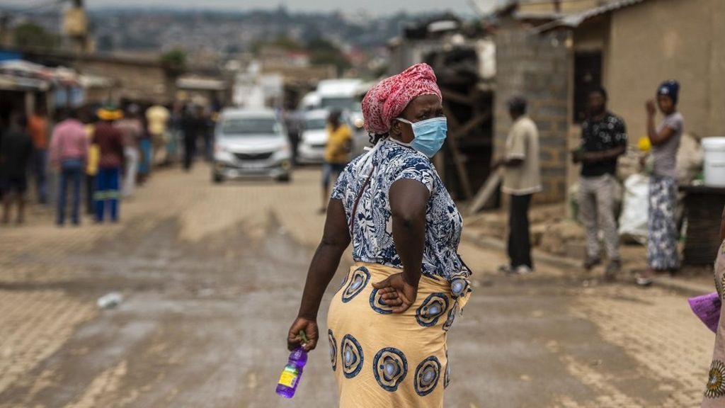 Sex worker in Africa with COVID19 infection