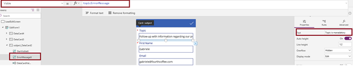 Dynamics 365 — PowerApps tips and tricks - Capgemini Microsoft team