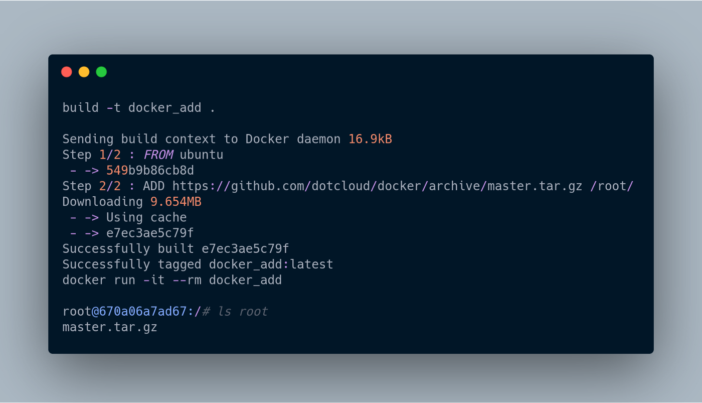 What Goes Into a Dockerfile. Build a Dockerfile from the ground ...