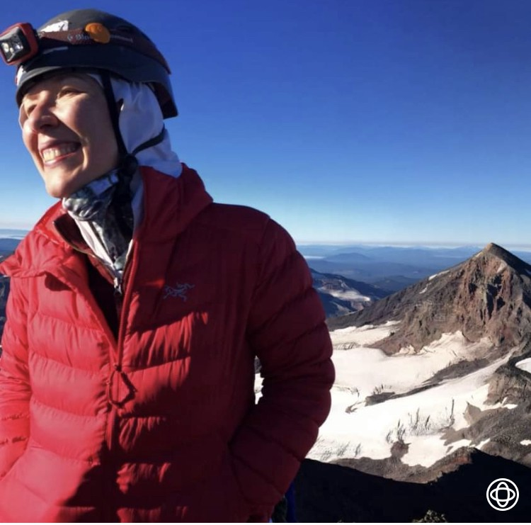 Summit of North Sister! What. a. climb. y'all.