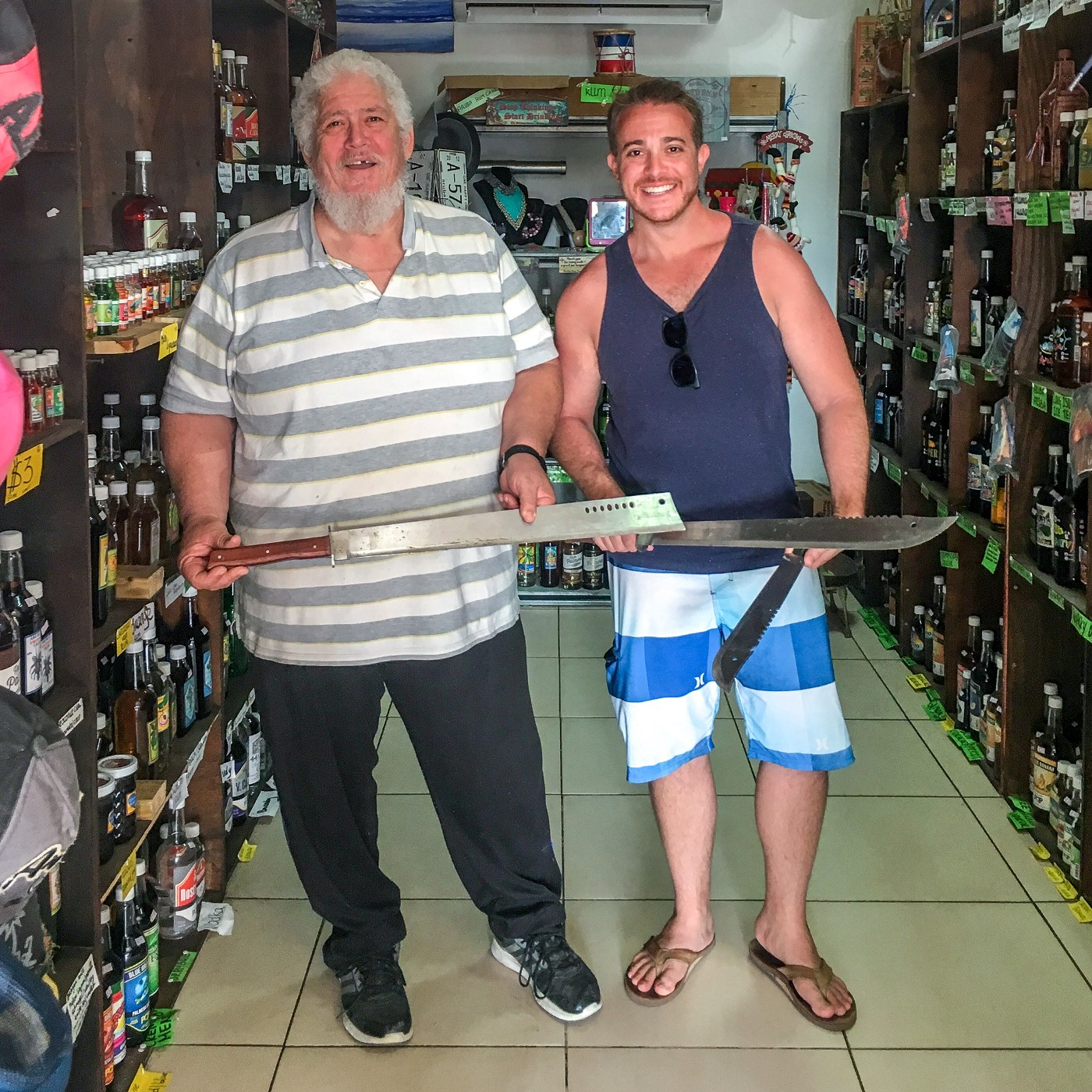 The Arubian Taste: Aruba's legendary rum shop known for creative mixology and owners that exude generosity of spirit.