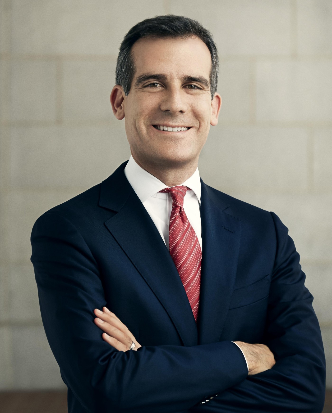 Mayor Eric Garcetti, the 42nd Mayor of Los Angeles.