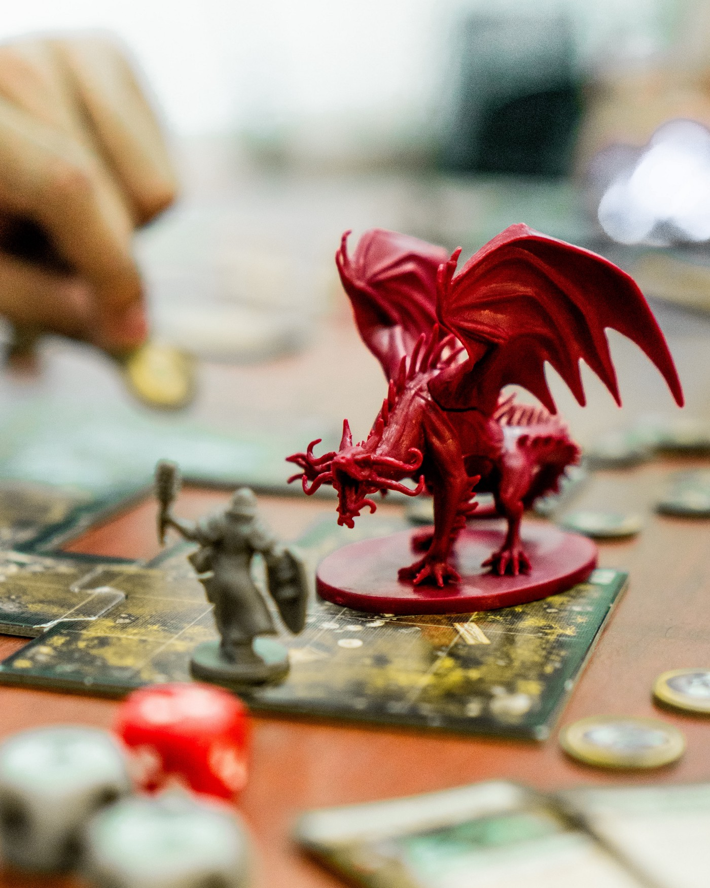 A dragon on a board game NFT article