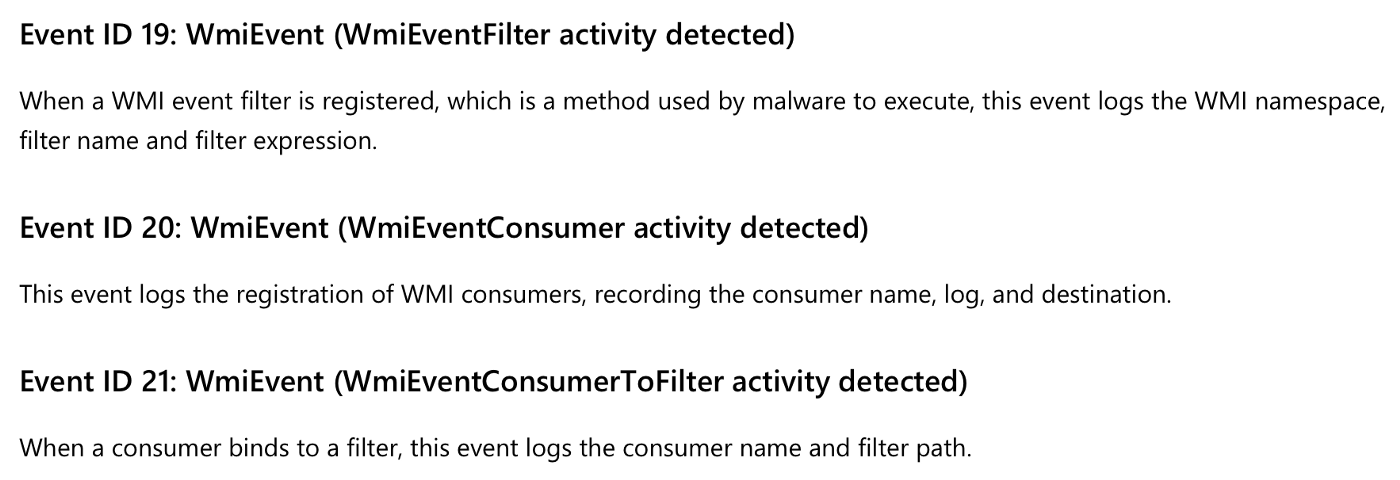 Detecting & Removing an Attacker's WMI Persistence - Threat Punter
