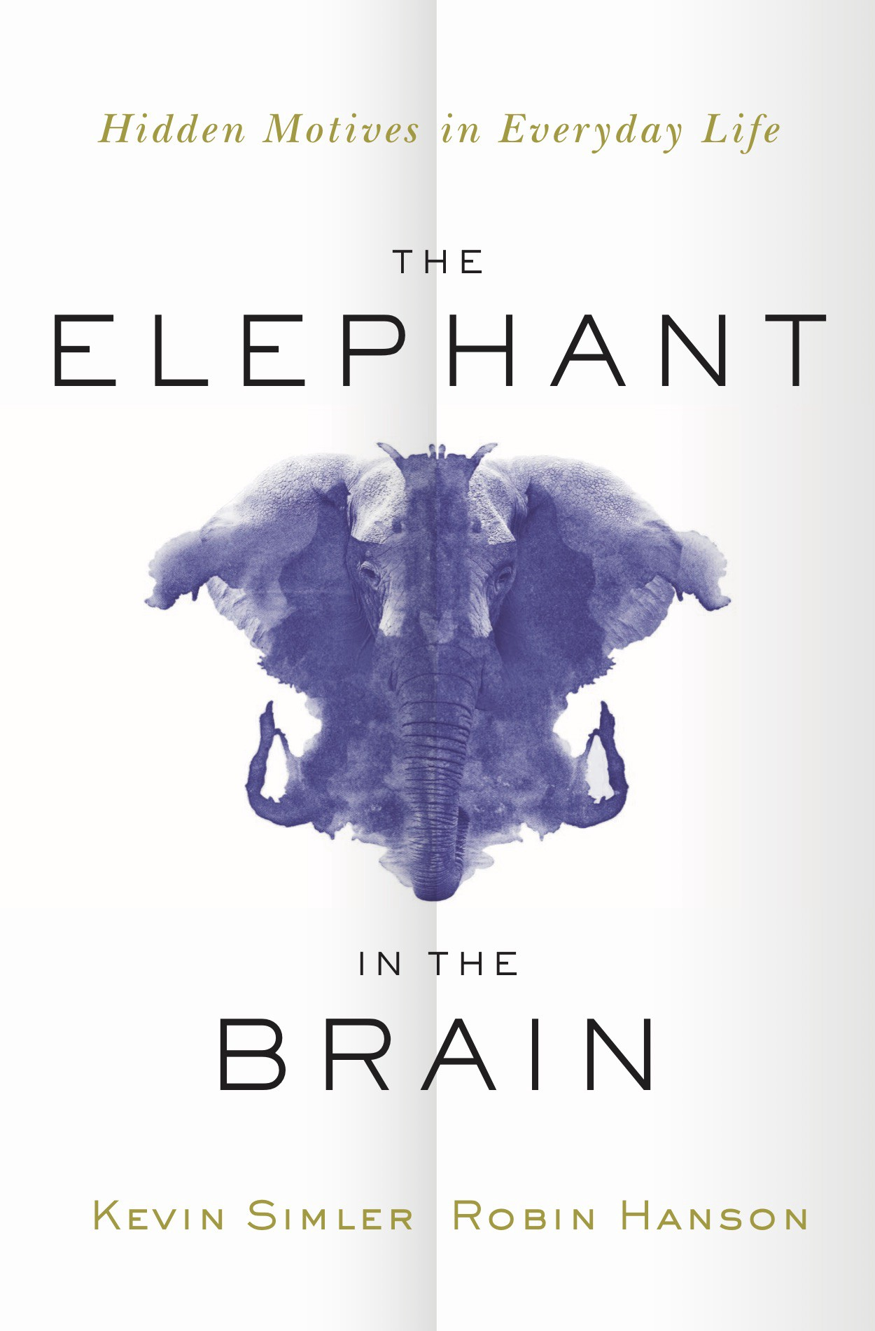 Book cover of The Elephant in the Brain