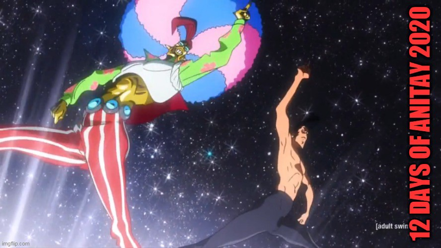 The Disco Dance-off from Space Dandy