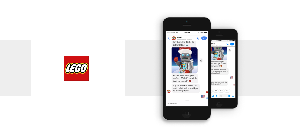 Chatbot Example #5: Lego's Ralph