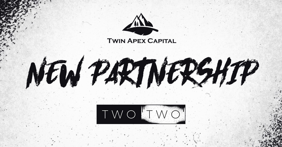 Twin Apex & TWO TWO Partnership Banner Announcement