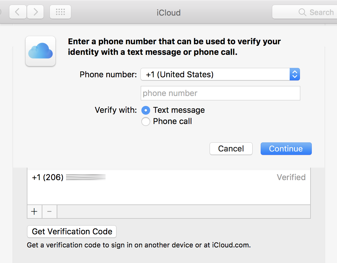 Use Two-Factor Authentication with Apple ID and iCloud