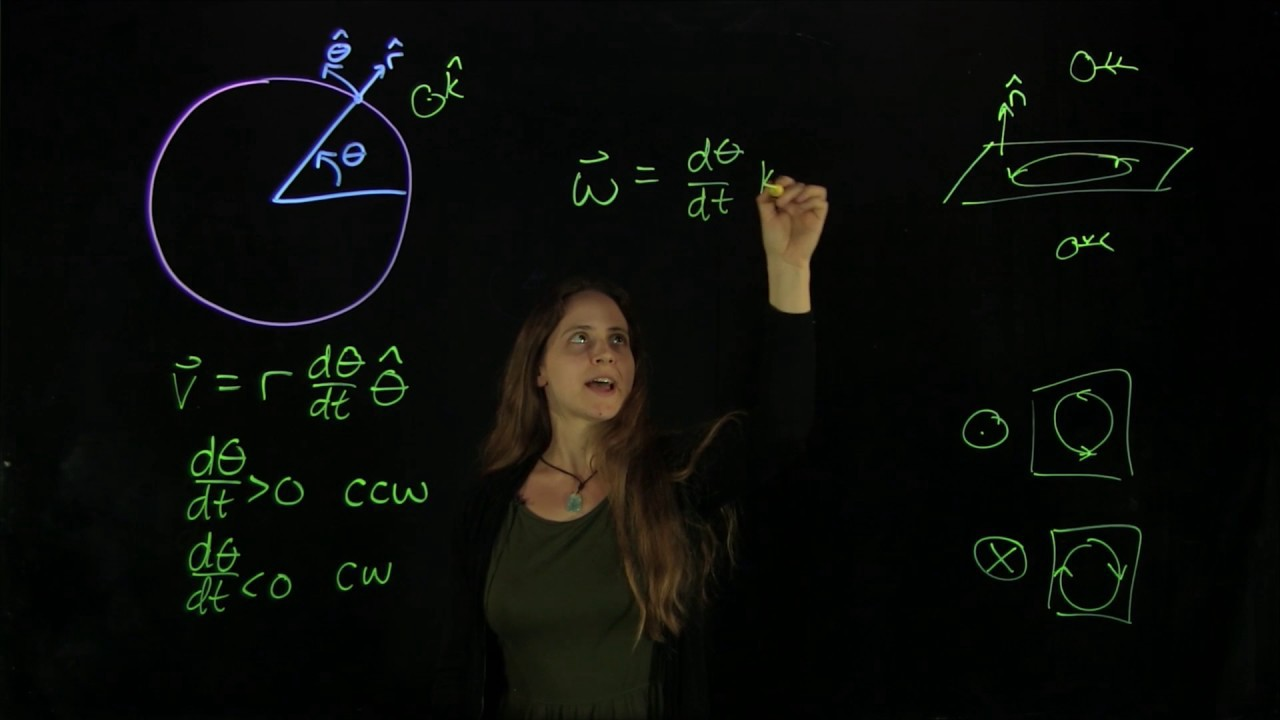 Woman drawing figures on a light board while lecturing on physics.