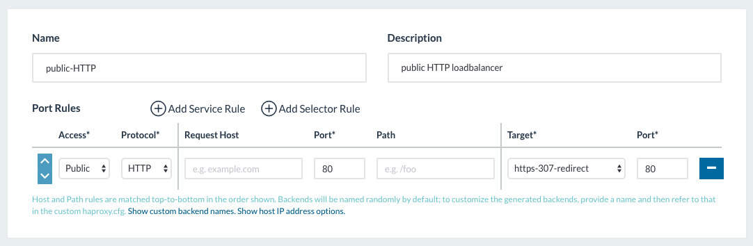Setting up your monster load balancers in Rancher for HTTP(S)