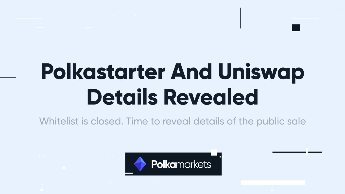Whitelist is closed. Time to reveal details of the public sale