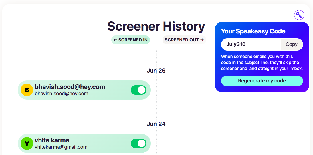 The Screener History in Hey is a complete UX failure, it lacks content design and UX writing, a review by Vinish Garg.