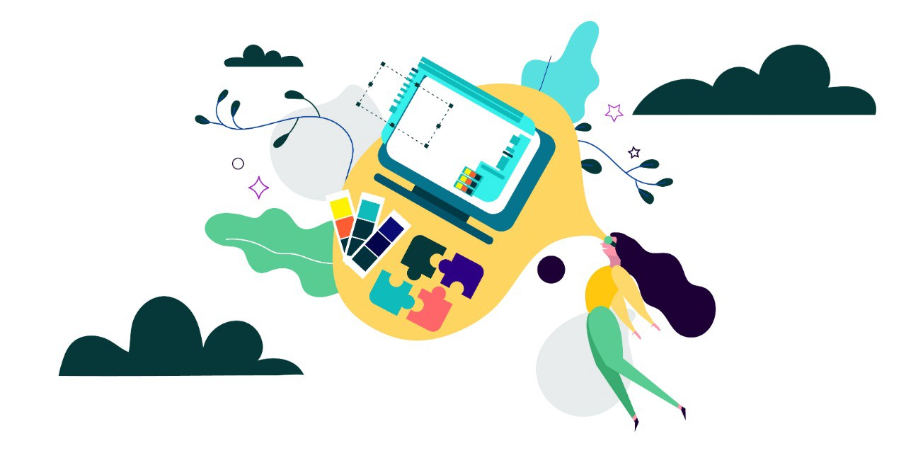 What is Visual Design?. Remember school when those colorful… | by Muskan  Jhanwar | UX Collective