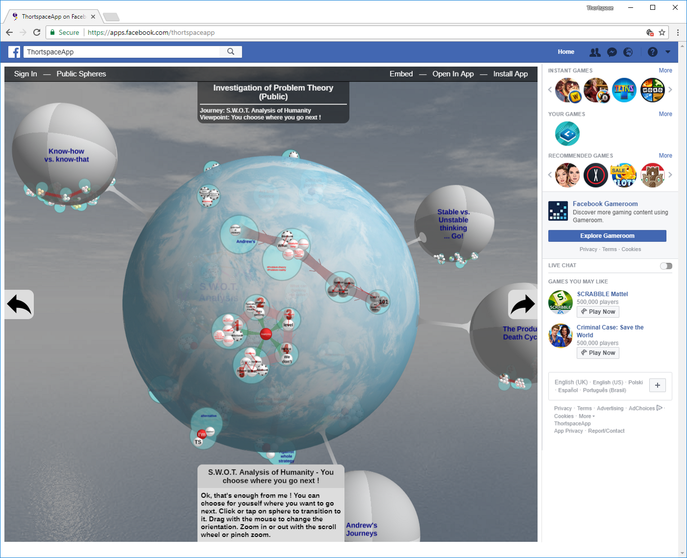 How to … add embedded Thortspace content to your Facebook page