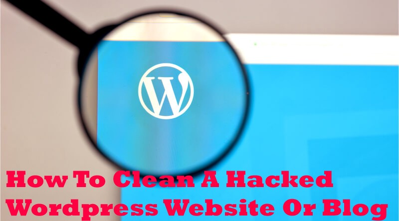 How To Clean A Hacked Wordpress Website Or Blog—Latitude Technolabs