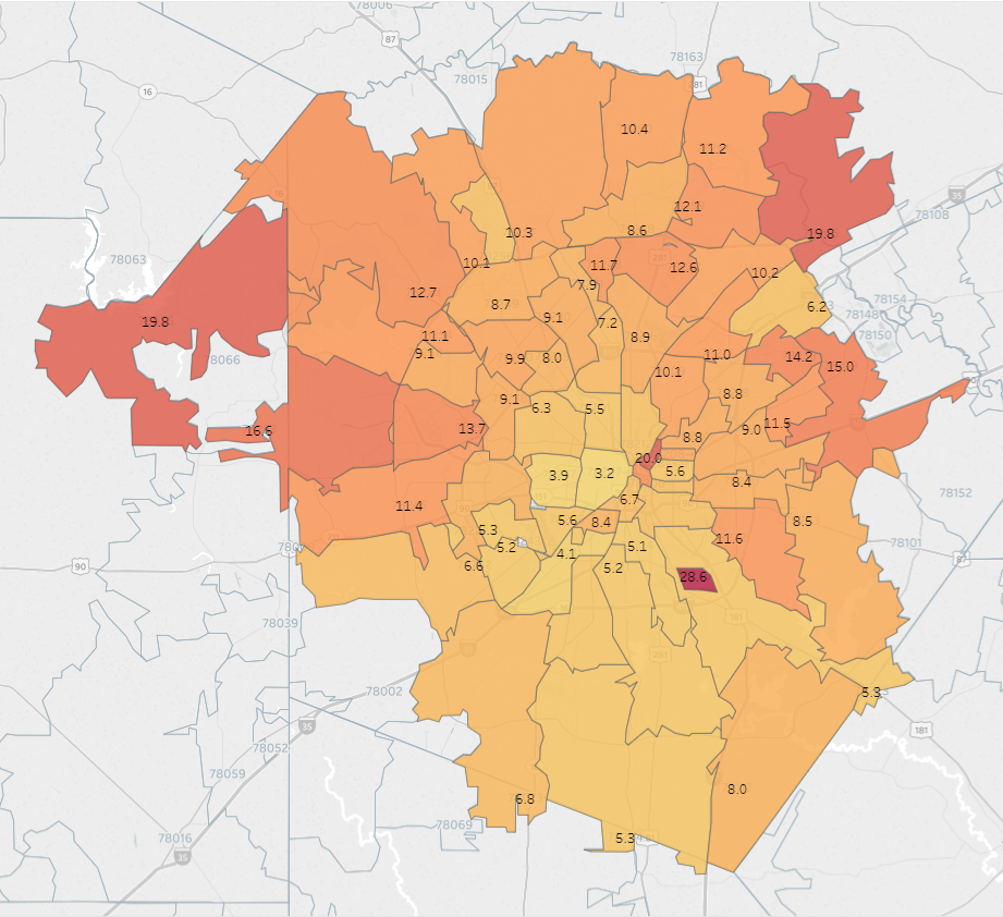 On the Map: Where Military Veterans Choose to Live in and around San ...