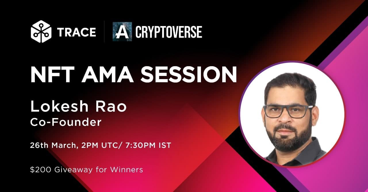 Trace Network AMA with cryptoverse