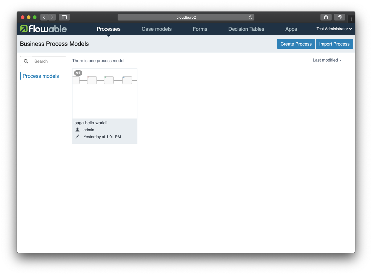 Saga Process Orchestration in Java Using the Flowable Process Engine