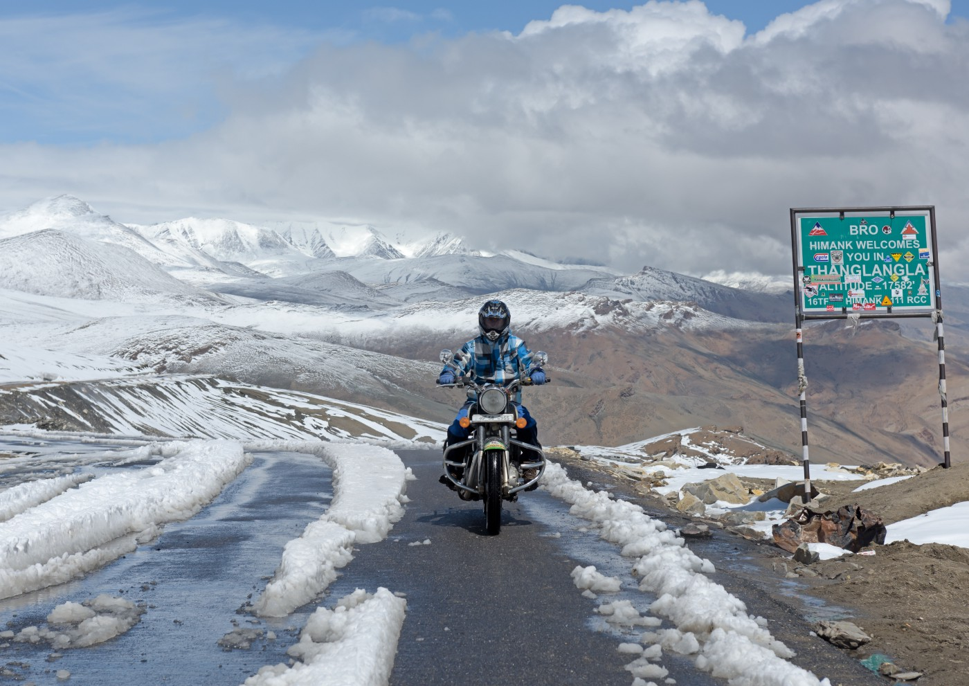 Chat & Meet With Ladakh Locals And Take On That Solo Bike Trip