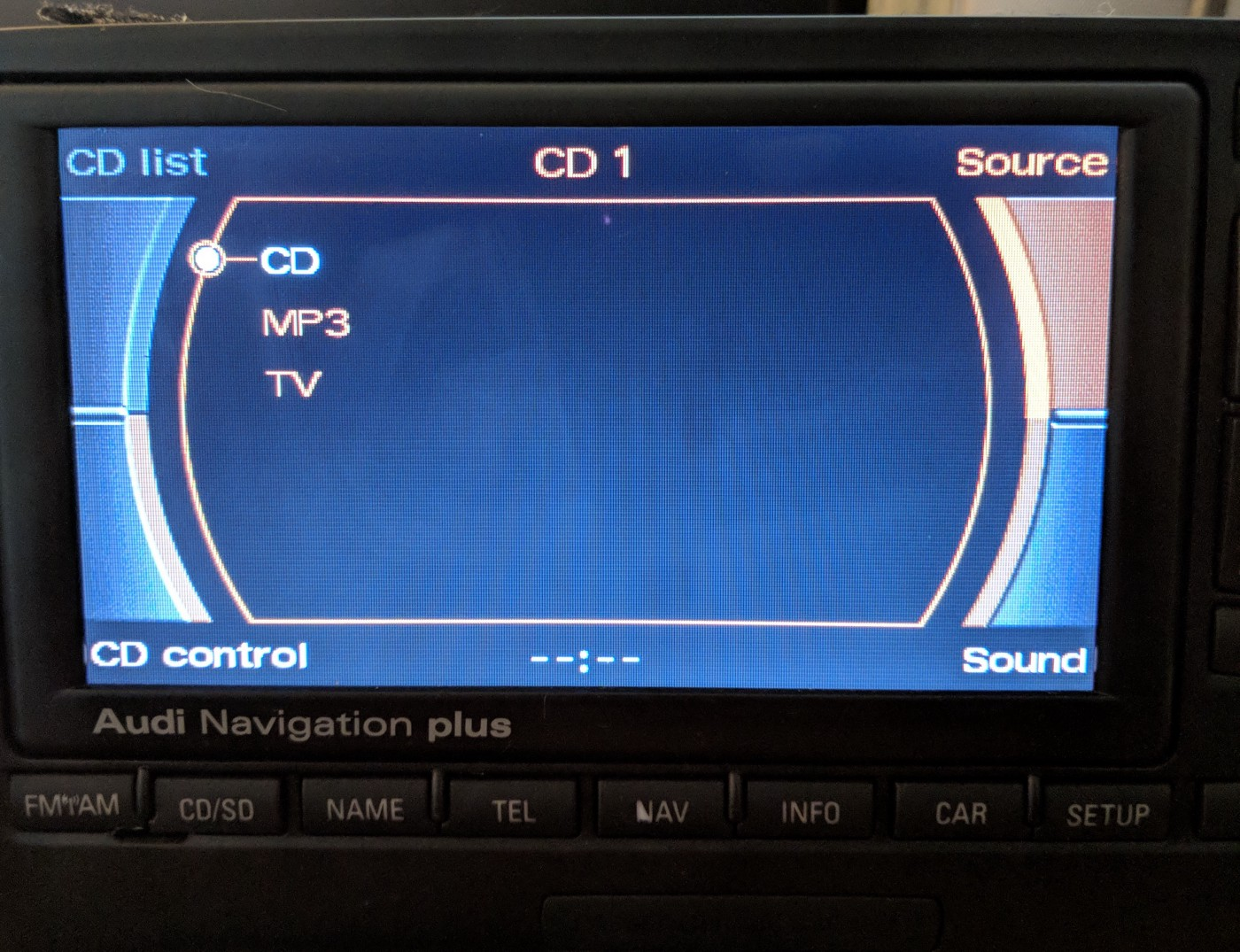 Bringing Android Auto to Audi Navigation Plus (RNS-E) using a