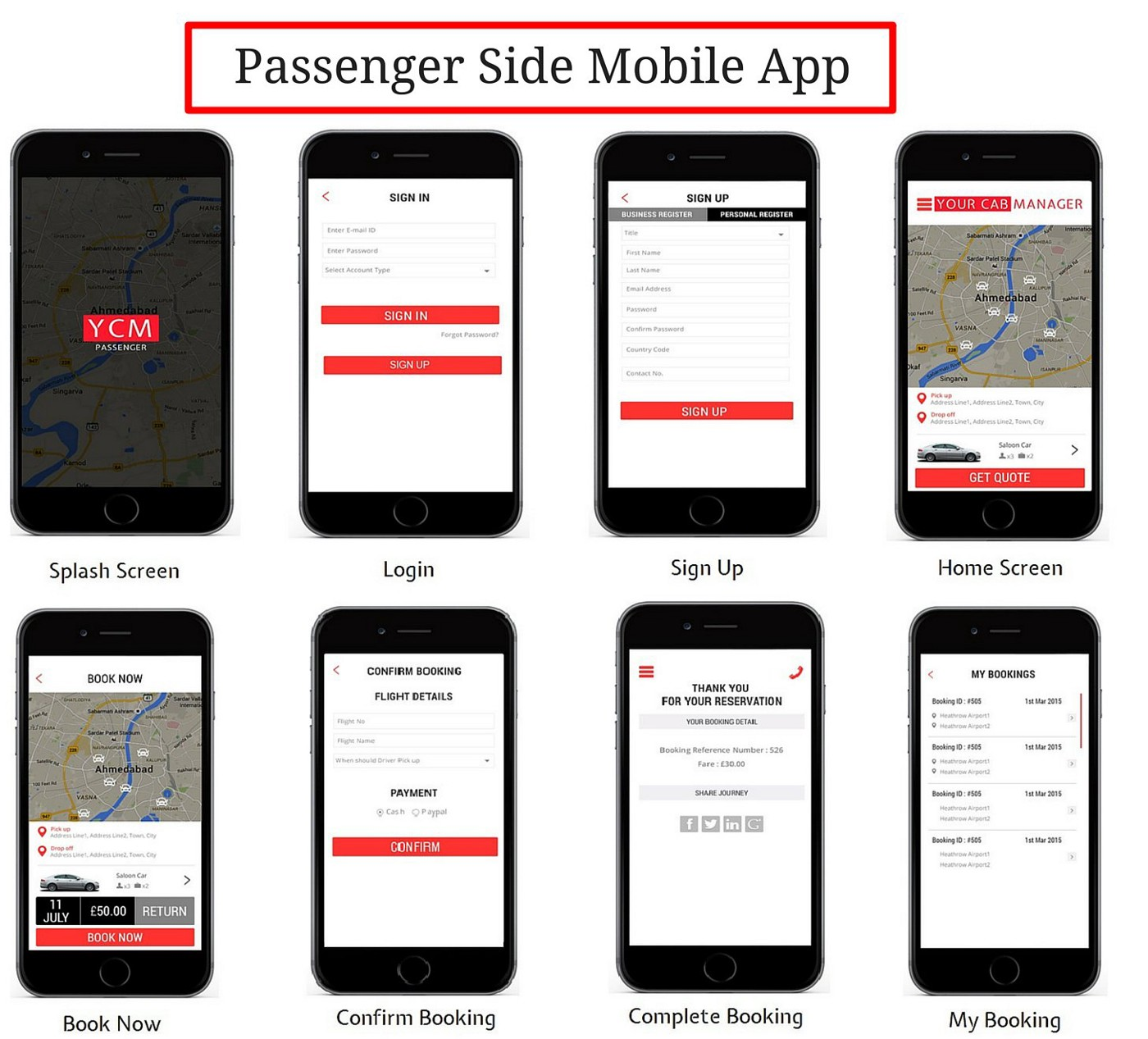 Taxi Booking App to grow your Taxi Business - Your Cab Manager - Medium